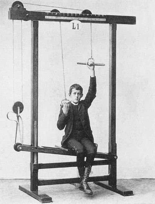 Fitness 100 lat temu 4