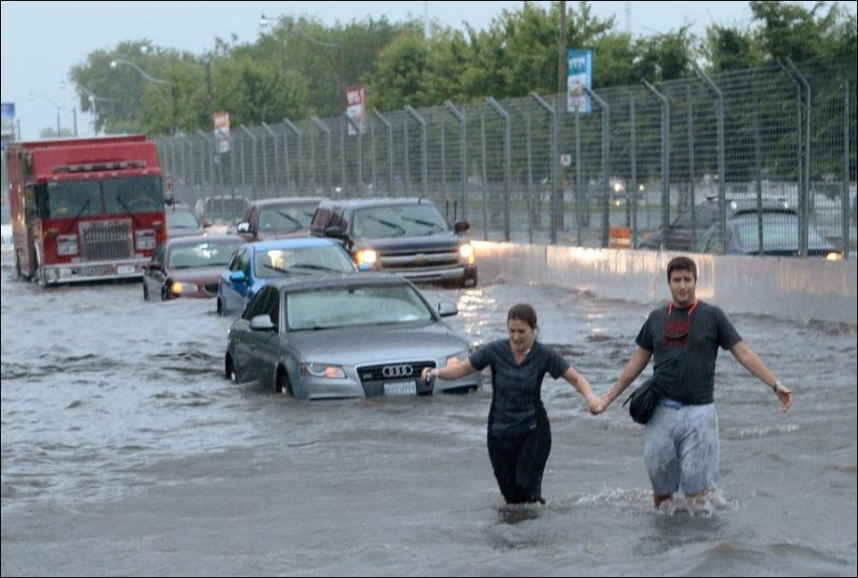 Toronto pod wodą 8