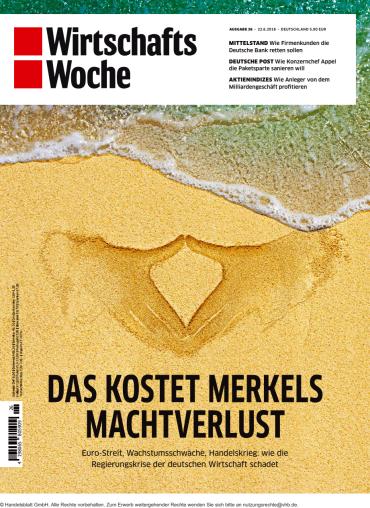 Wirtschaftswoche Magazin No 26 vom 22 Juni 2018