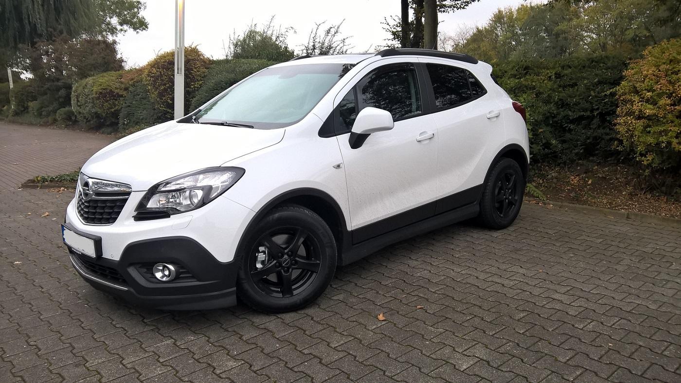 Edition schneewei mit opc line opel mokka a opel for Opel mokka opc line paket exterieur