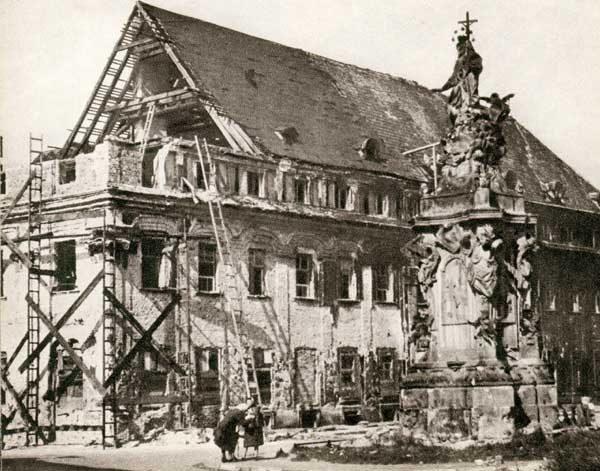 Wrocław  1945 Zniszczenia 18