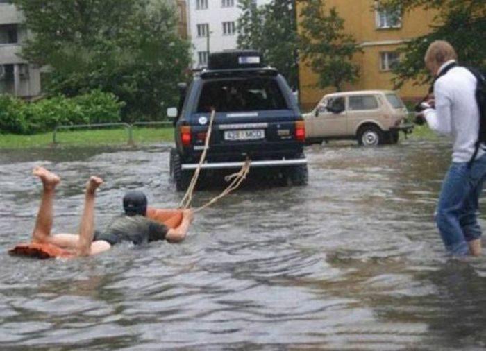 Miasta w czasie powodzi 33
