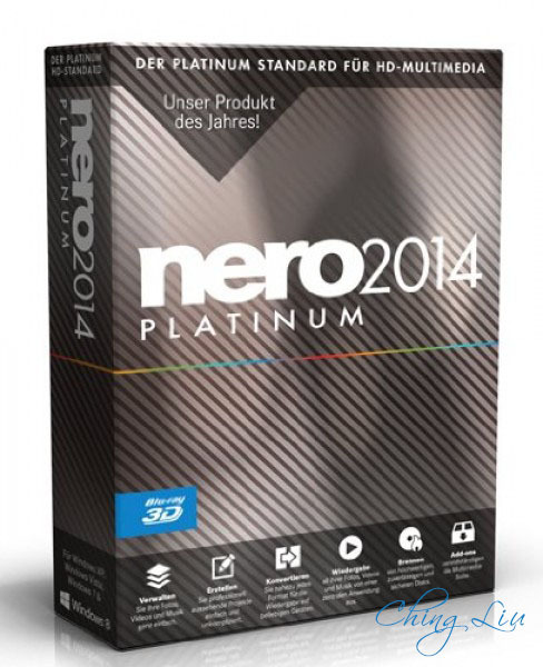 Nero 2014 Platinum 15 0 03400 Final (with ContentPack) [ChingLiu]