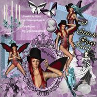 9 Stück Poser Fairy *Vanny*