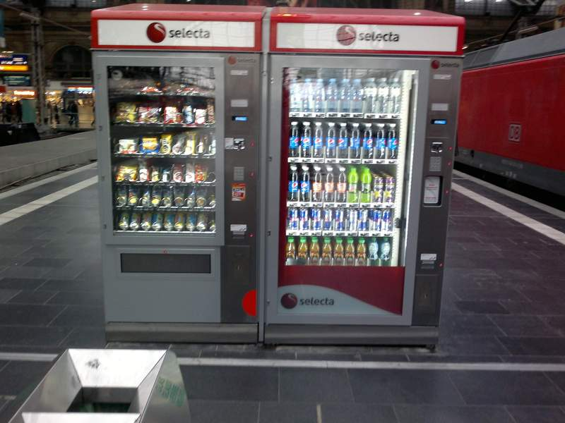 Neue verkaufsautomaten in frankfurt eisenbahn for Ui offenbach