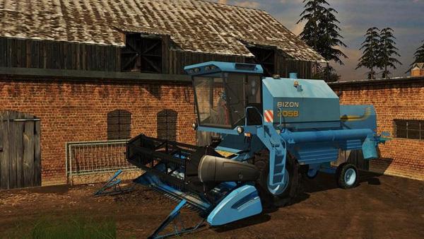 New Holland Bizon Z058 v1.0