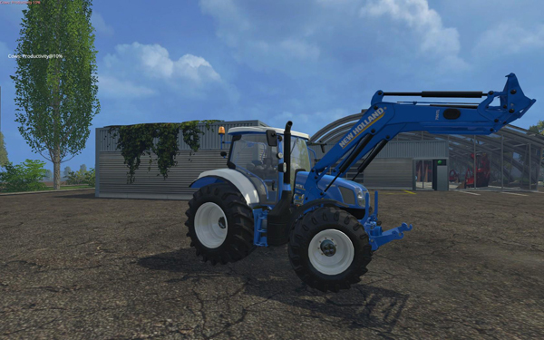 New Holland colored with Front Loader