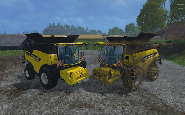 New Holland CR1090 Wheels v1.6
