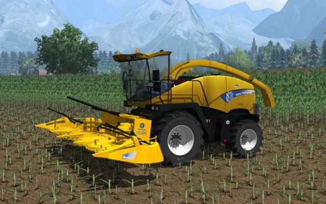 Fs15 ensileuse new holland