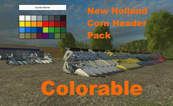 New Holland maize header pack v1.0
