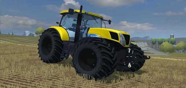 New Holland T7.210 Yellow