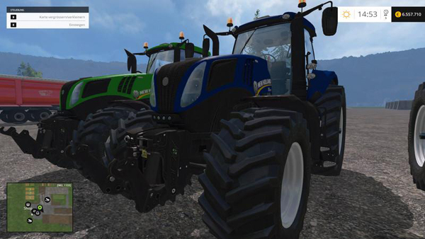 New Holland T8 435 4 v2.2