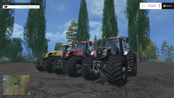 NEW HOLLAND T8320 EVOX 620 v1.4 PACK 2