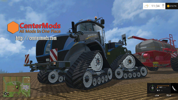 New Holland T9 670 SmartTrax V2.0