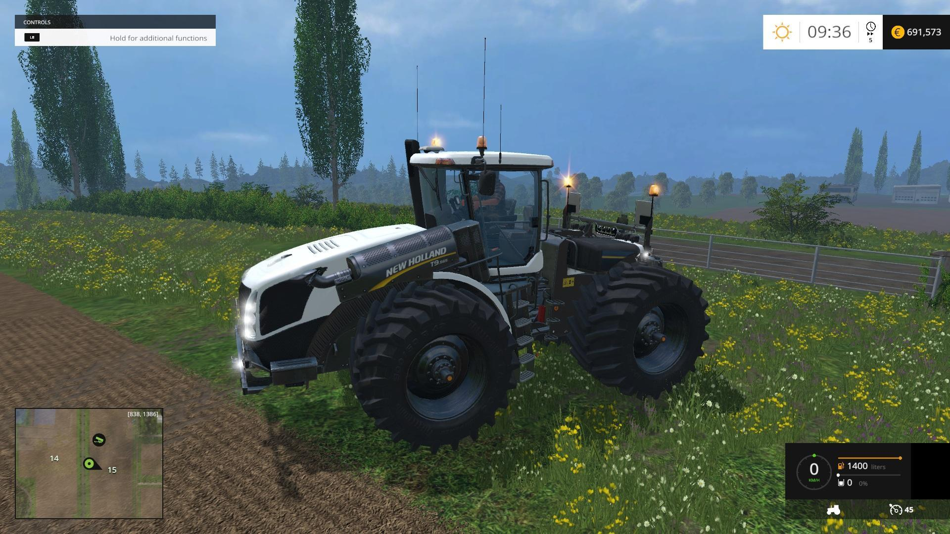 New Holland T9560 double pack v1.0