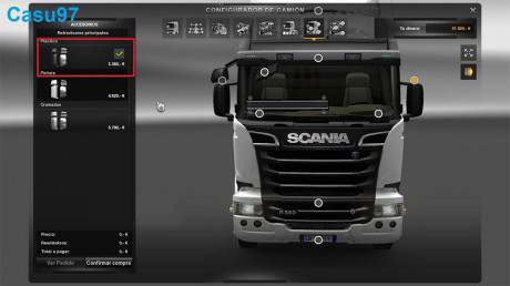 New Mirror Scania Streamline – Euro Truck Simulator 2 Mod