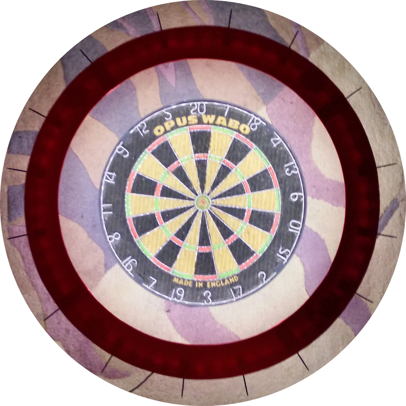 Home pro dartboard light surround lilianduval for Diy dartboard lighting