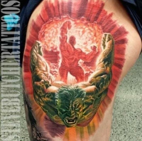 Świetne tatuaże #6 62