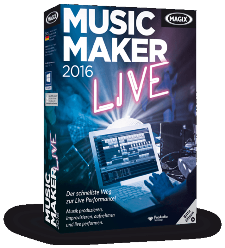 MAGIX Music Maker 2016 Live v22.0.3.63