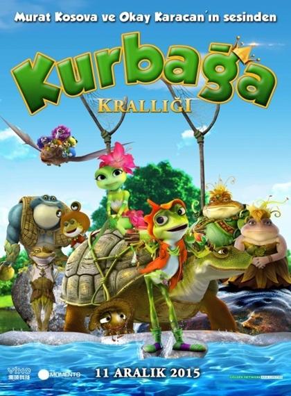 Frog Kingdom - Kurbağa Krallığı (2013) - türkçe dublaj animasyon film indir
