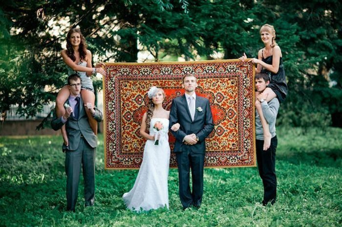 Najdziwniejsze zdjęcia ślubne #4 16