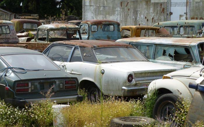 Cmentarzysko samochodów #2 37