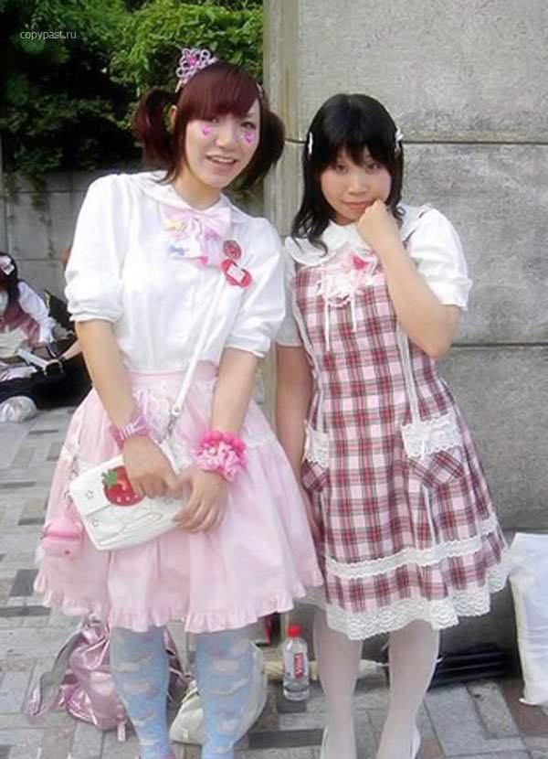 Najdziwniejsze trendy w Japońskiej modzie 47