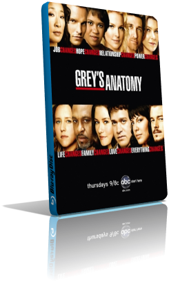 Grey's Anatomy - Stagione 4 (2008) (Completa) DVDRip ITA MP3 Avi