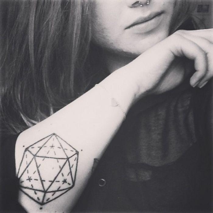 Geometryczne tatuaże 29