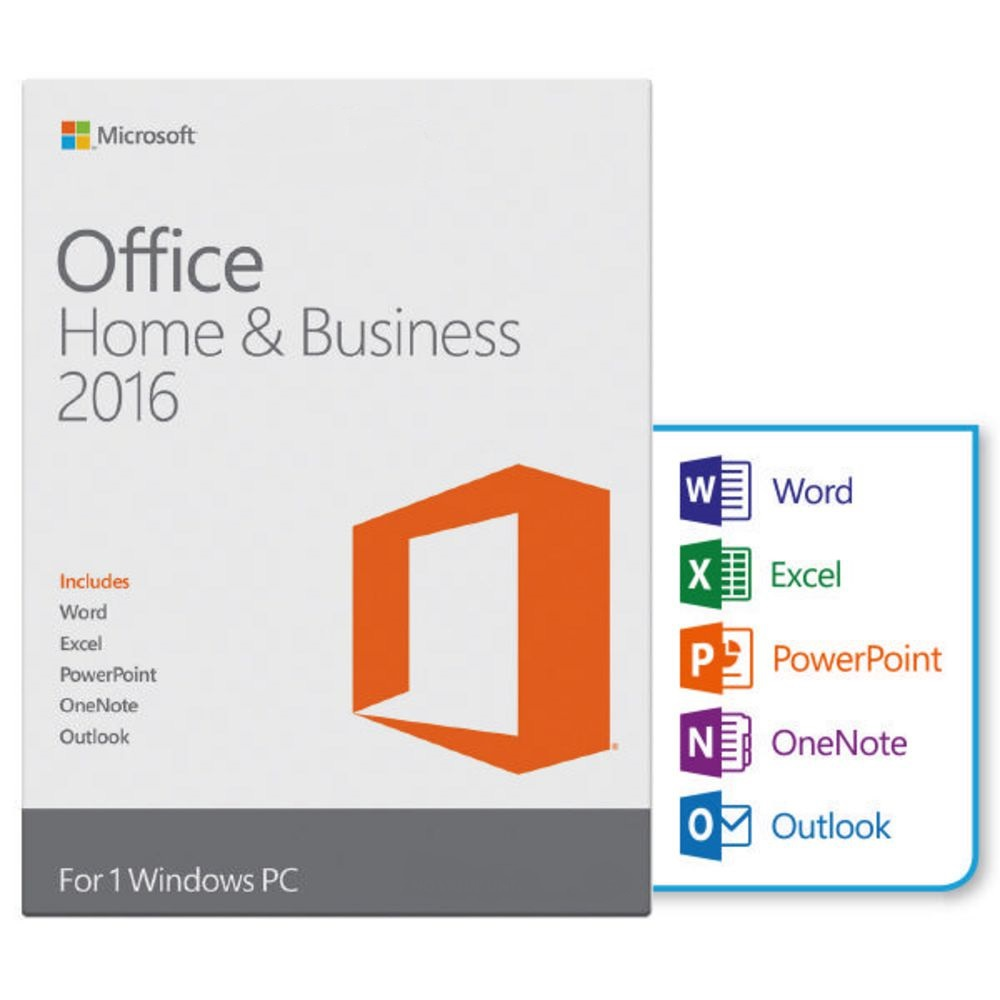 microsoft office 2016 home and business esd lizenz f r 1pc 32 64 bit version ebay. Black Bedroom Furniture Sets. Home Design Ideas