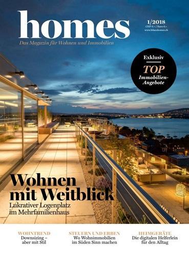 Homes Das Magazine Für Wohnen und immobilien No 01 2018