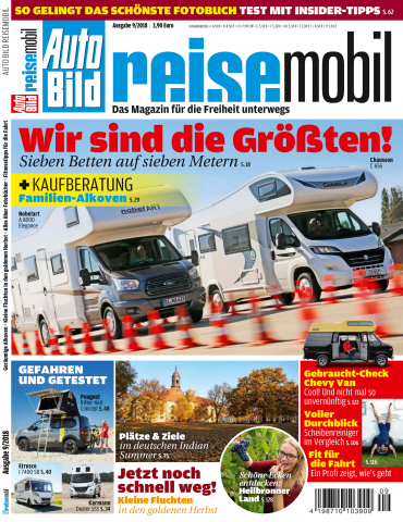 :  Auto Bild Reisemobil September No 09 2018