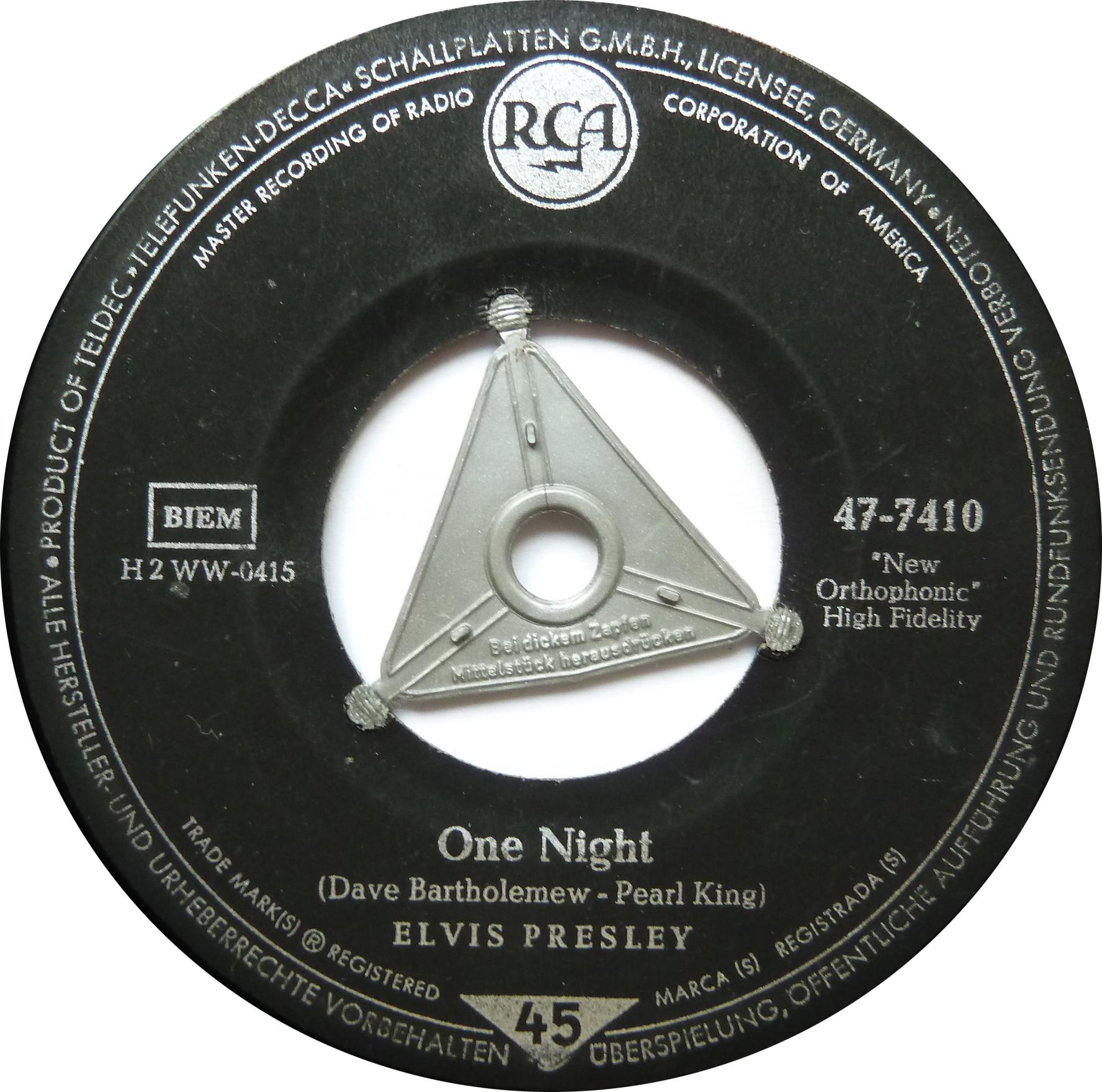 One Night / I Got Stung Onenights5side1jbaur