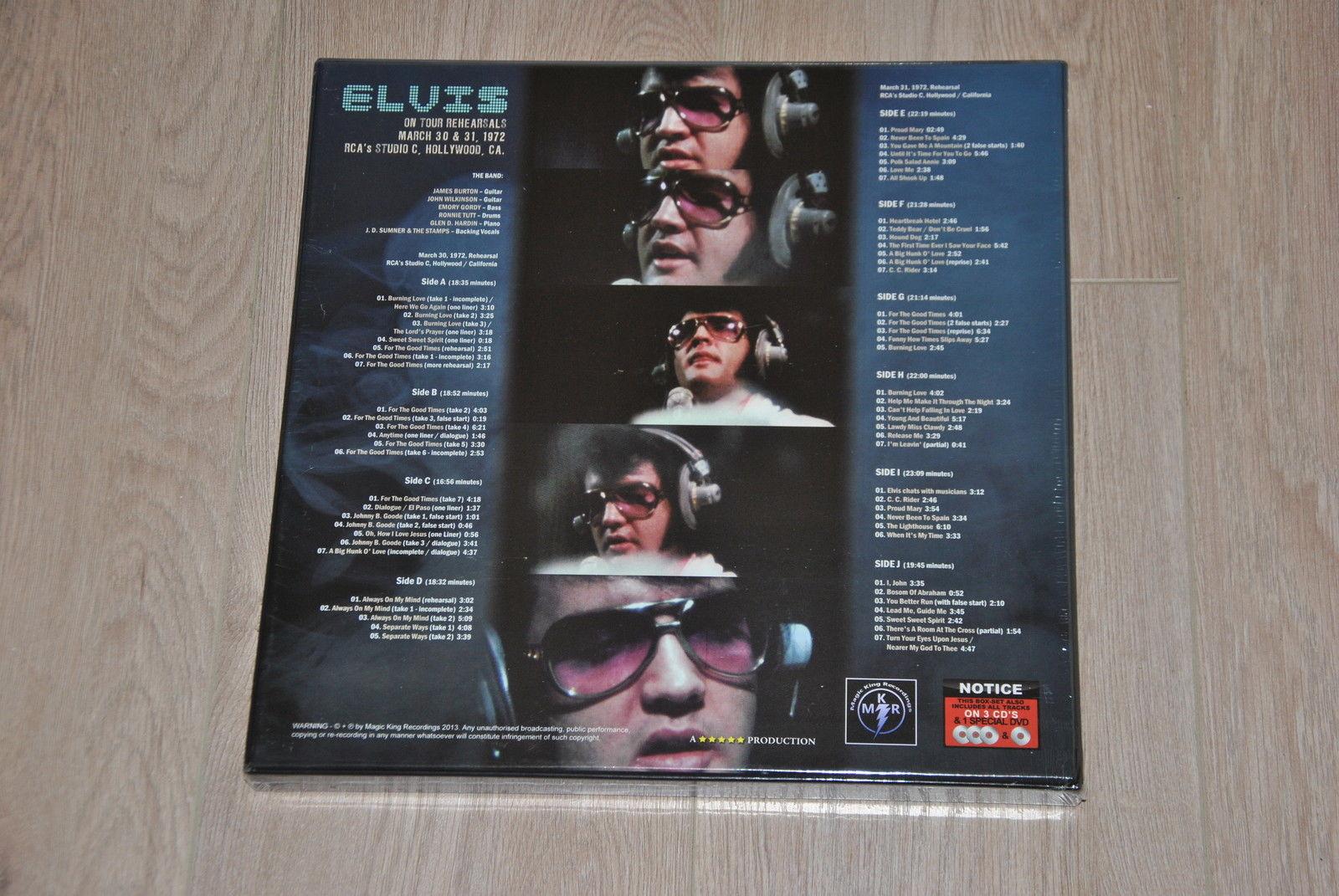 Elvis On Tour Rehearsals: 1972 Ontourb5ap3y
