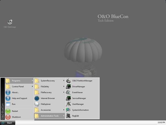 O&O BlueCon v15.0 Build 4073 Admin Edition Bootable ISO German