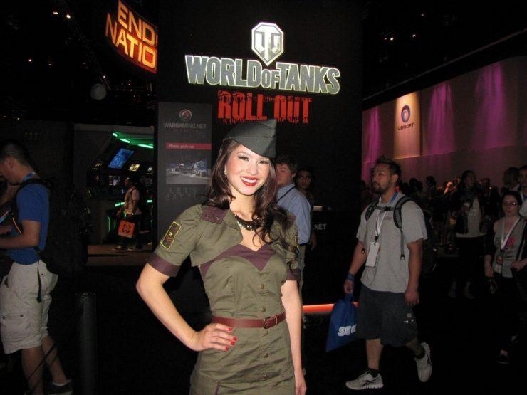 Dziewczyny z Targów E3 2012 30