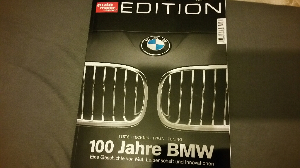 m forum sonderheft ams 100 jahre bmw. Black Bedroom Furniture Sets. Home Design Ideas