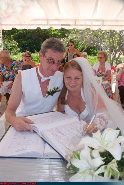 Zabawne zdjęcia ślubne 7