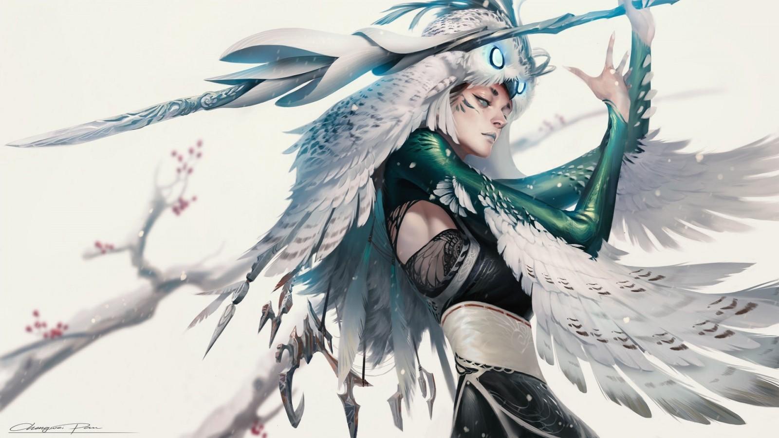 Yoshino Sherwood Owl_feathers_women-13w4jvp