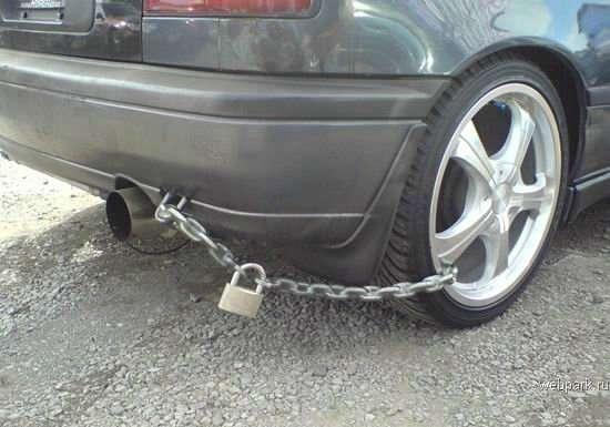 Jak zabezpieczyć pojazd przed złodziejami ? 12