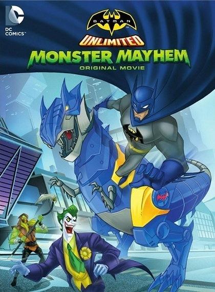 Batman Unlimited: Monster Mayhem 2015 BRRip XviD Türkçe Dublaj – Tek Link