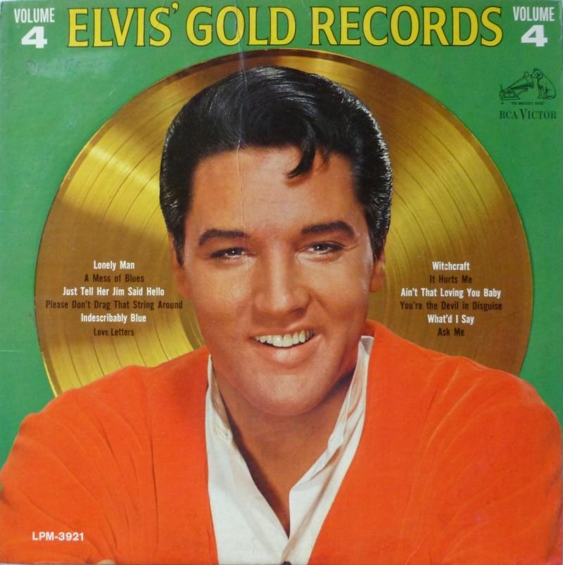 ELVIS' GOLD RECORDS VOL. 4 P1000427fokp7