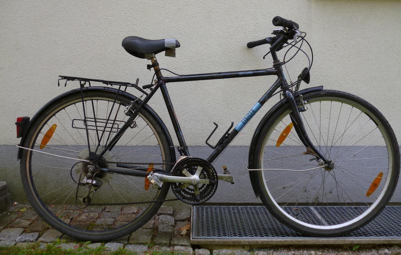 21 jahre fahrrad mit stahlrahmen renovieren seite 1 von. Black Bedroom Furniture Sets. Home Design Ideas