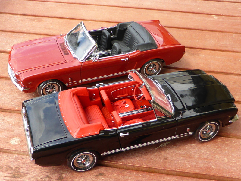 ford mustang cabrio 1964 1 2 modelcarforum. Black Bedroom Furniture Sets. Home Design Ideas