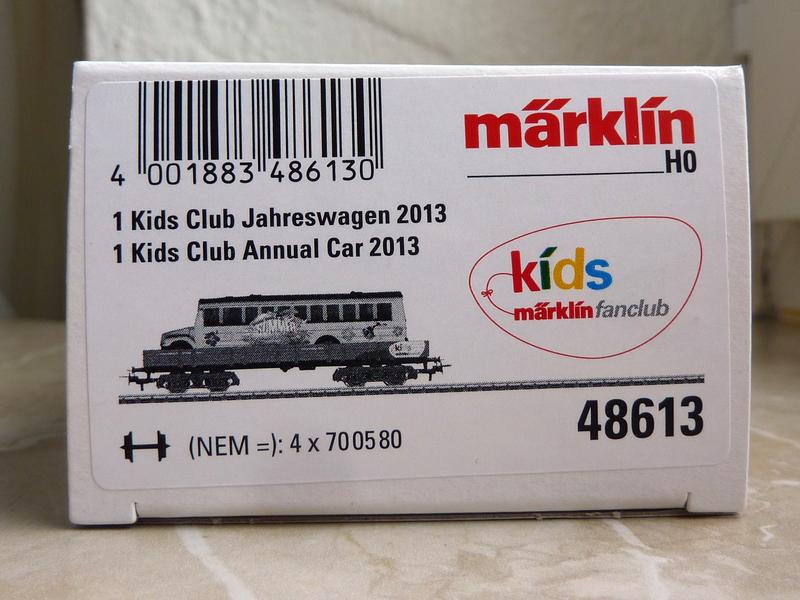 Märklin 48613 Kids Club Jahreswagen 2013  P1110760jse5s