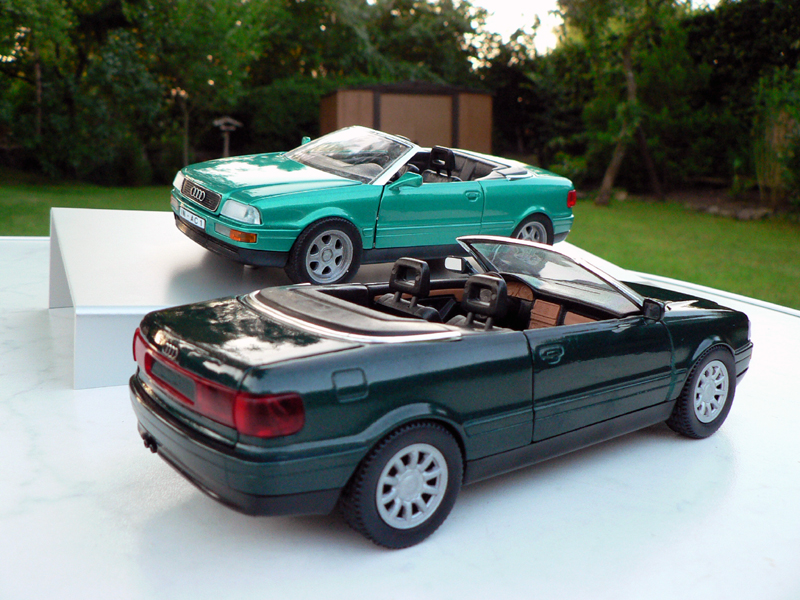 1 24 audi 80 cabrio von schabak modelcarforum. Black Bedroom Furniture Sets. Home Design Ideas
