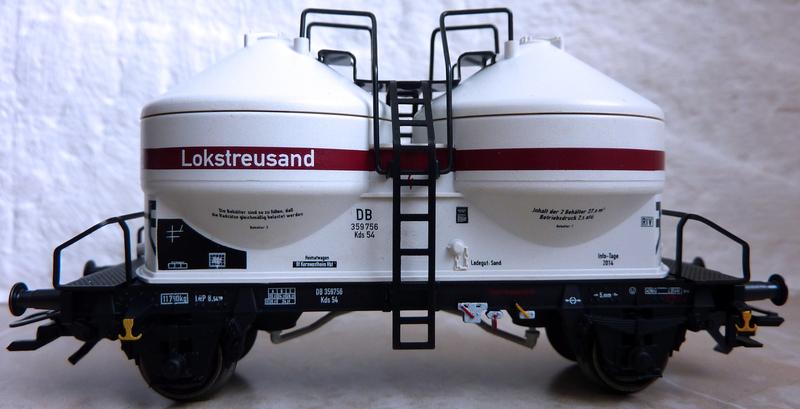 """Märklin 48334 Sonderwagen Info-Tage 2014 ,,Lokstreusand"""" P1120510arsqt"""