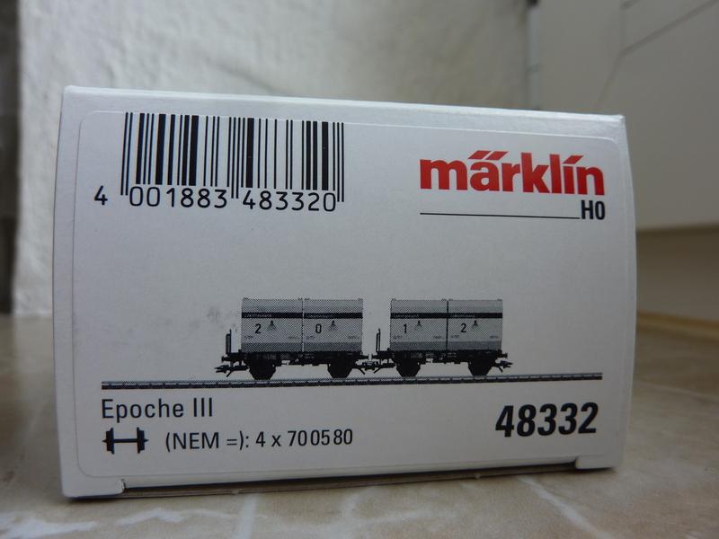 "Märklin 48334 Sonderwagen Info-Tage 2014 ,,Lokstreusand"" P11205196kfji"