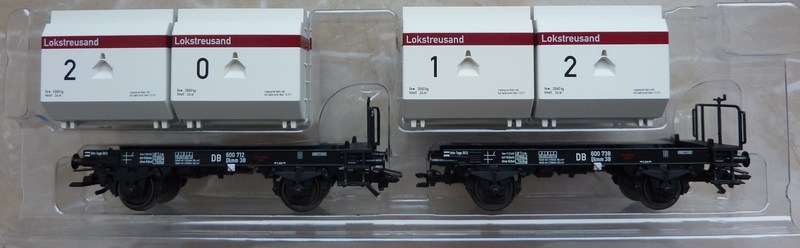 "Märklin 48334 Sonderwagen Info-Tage 2014 ,,Lokstreusand"" P1120520w2e1s"