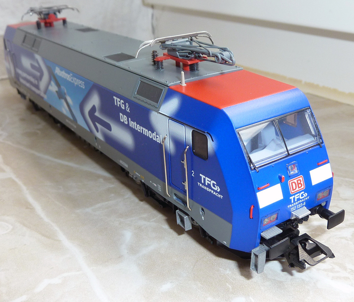 """Trix 22679 (152 137-6 """"TFG Albatros Express"""") --->> Märklin Umbau P112083762j4j"""